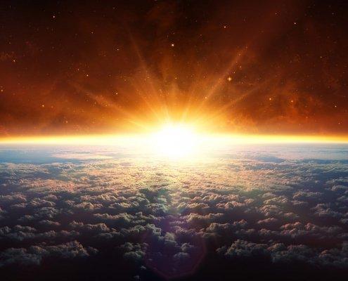 Die letzte Reise führt ins Weltall
