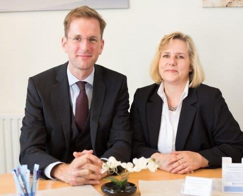 Frau Jahnke und Herr Burmeister-Wiese